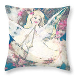Angel with Trumpet - Throw Pillow
