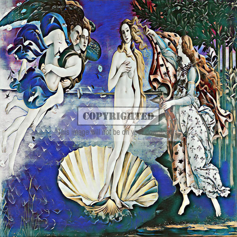 Birth of Venus (Updated Version)