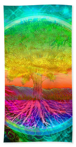 Tree of Life Blessings - Beach Towel
