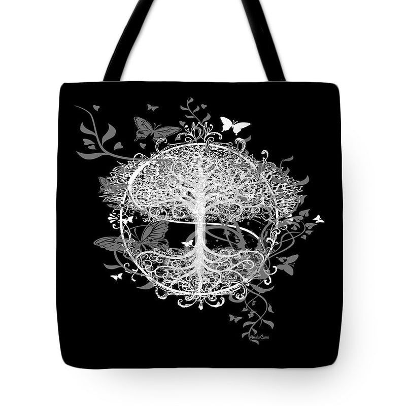 Butterfly Tree at Night - Tote Bag