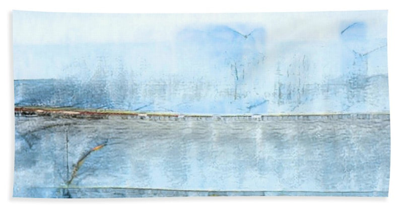 Coastal Breeze Abstract - Bath Towel