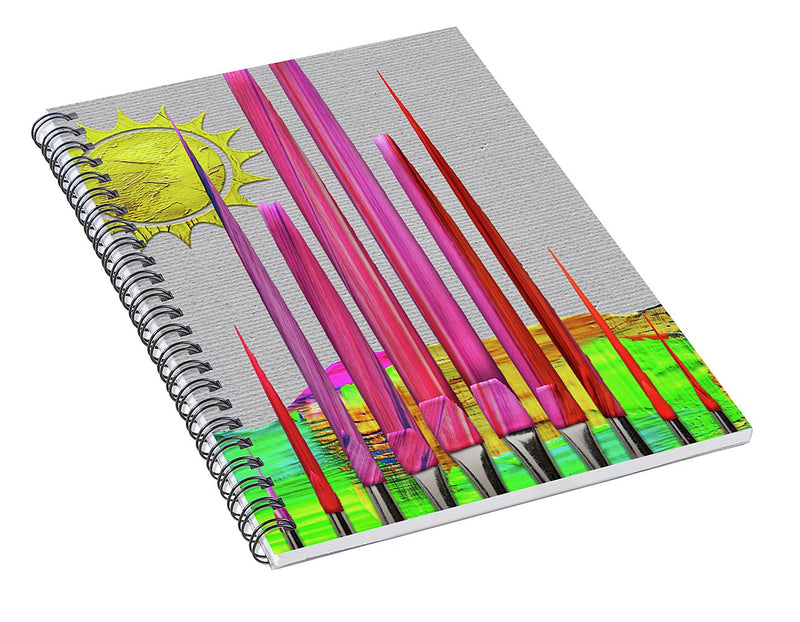 Color Your World - Spiral Notebook