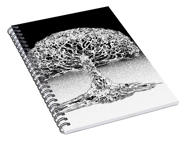 Coral Sea Tree of Life - Spiral Notebook