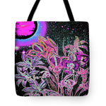 Dance of the Midnight Flowers - Tote Bag