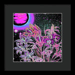 Dance of the Midnight Flowers - Framed Print