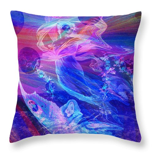 Dreamland - Throw Pillow