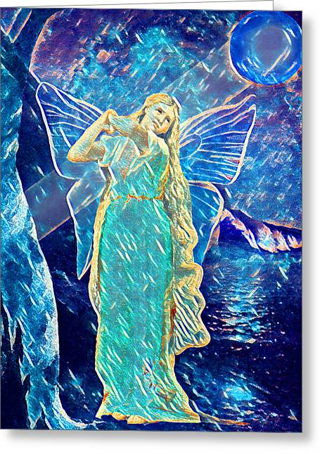 Fairy Moonlight - Greeting Card
