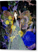 Flower Garden Angel - Canvas Print