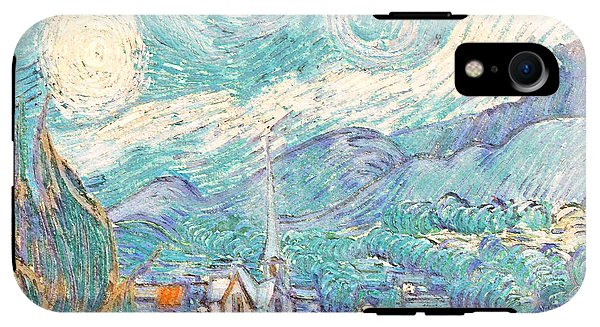 From Starry Night to Daytime - Phone Case