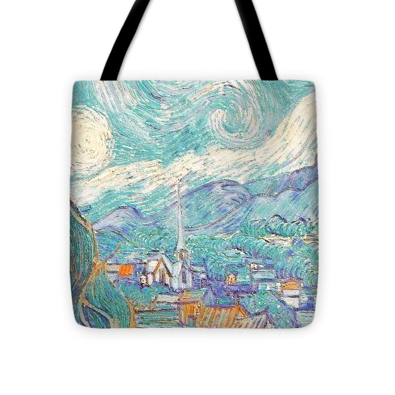 From Starry Night to Daytime - Tote Bag
