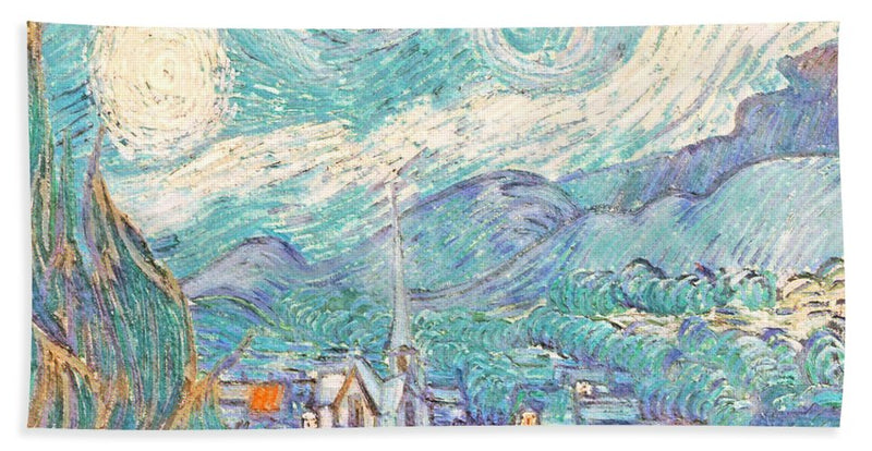 From Starry Night to Daytime - Beach Towel