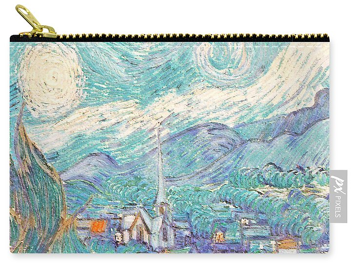From Starry Night to Daytime - Carry-All Pouch