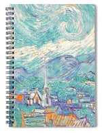 From Starry Night to Daytime - Spiral Notebook