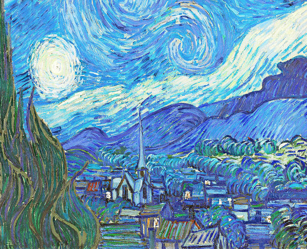 From Starry Night to Mornings Light - Art Print