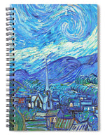 From Starry Night to Mornings Light - Spiral Notebook