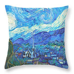 From Starry Night to Mornings Light - Throw Pillow