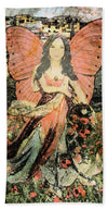 Gathering Flowers - Beach Towel