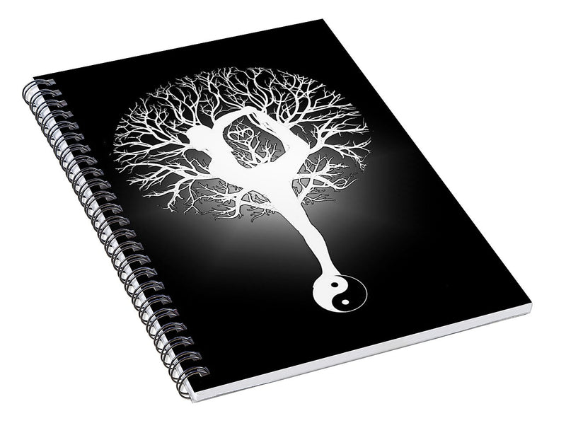 Harmony and Balance - Spiral Notebook