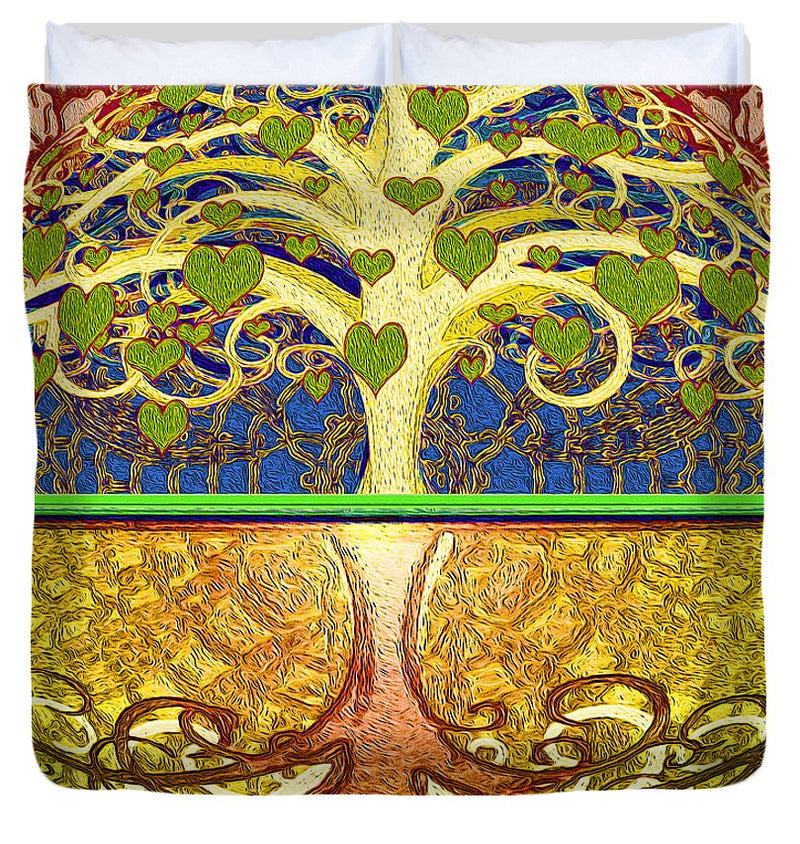 Heart Tree - Duvet Cover