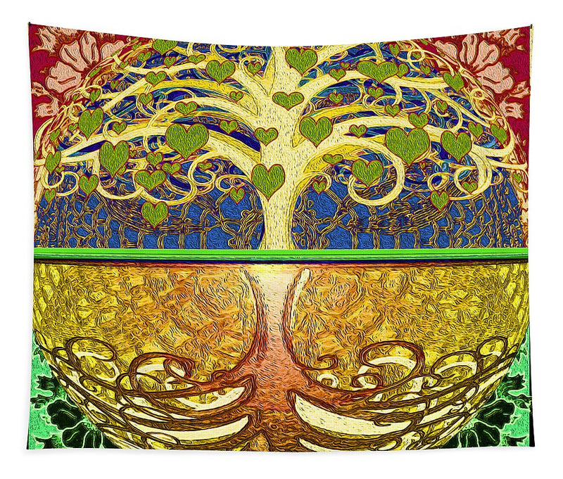 Heart Tree - Tapestry
