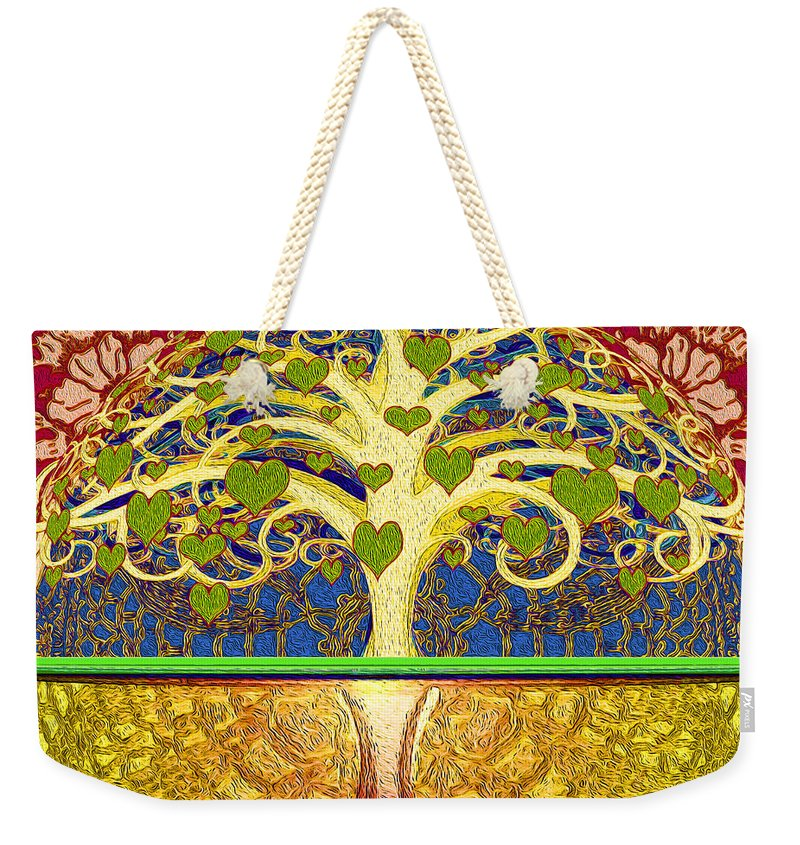 Heart Tree - Weekender Tote Bag