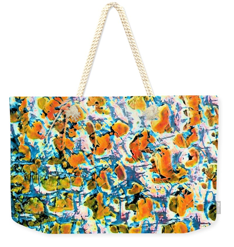 Hot Pepper Surprise Abstract - Weekender Tote Bag