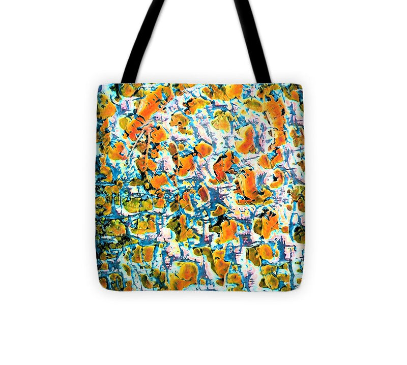 Hot Pepper Surprise Abstract - Tote Bag