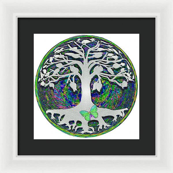Circle of Life - Framed Print