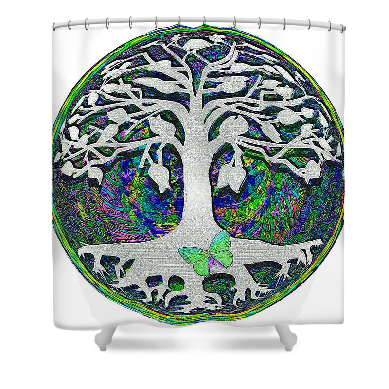 Circle of Life - Shower Curtain