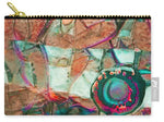 Lens of Life Abstract - Carry-All Pouch