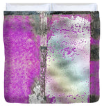 Looking Back Abstract - Duvet Cover