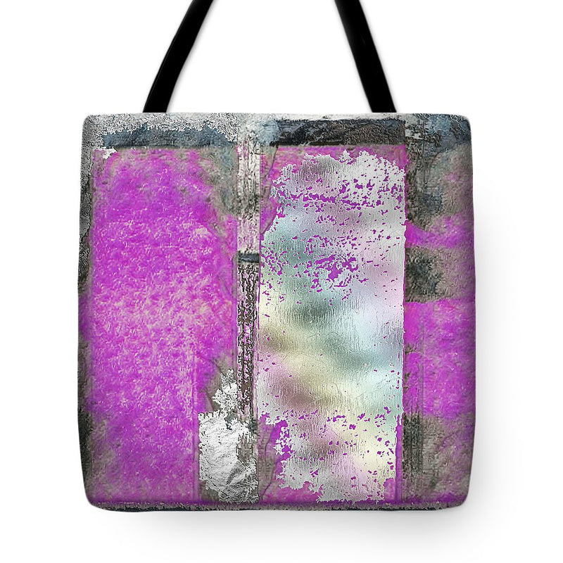 Looking Back Abstract - Tote Bag