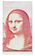 Mona Lisa Watercolor Version - Yoga Mat