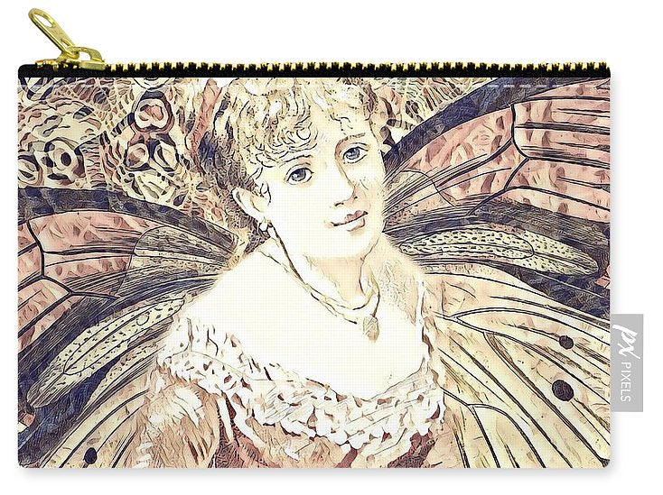 Monarch Butterfly Collage - Carry-All Pouch