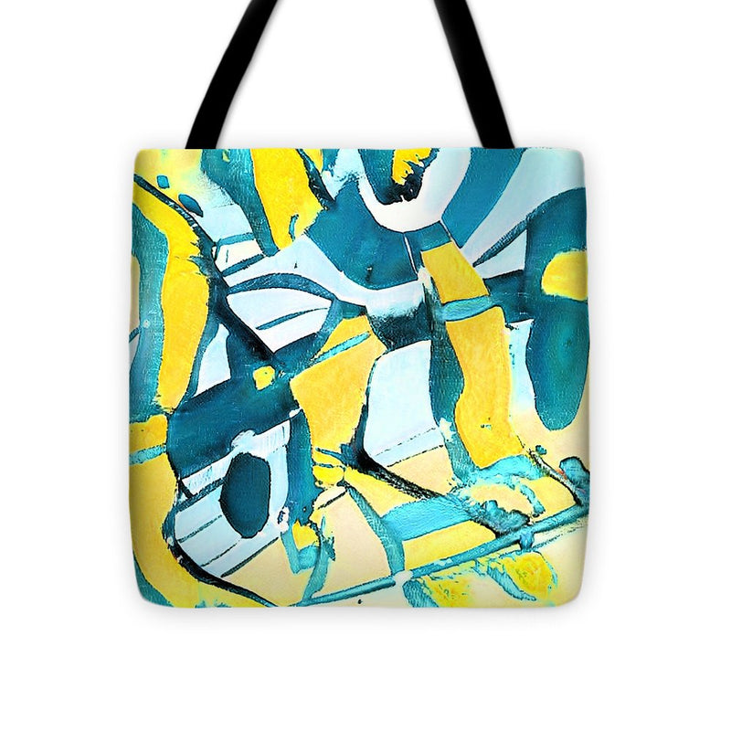 Morning Sky Abstract - Tote Bag