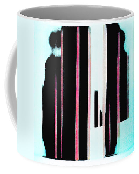 Night and Dad Abstract - Mug