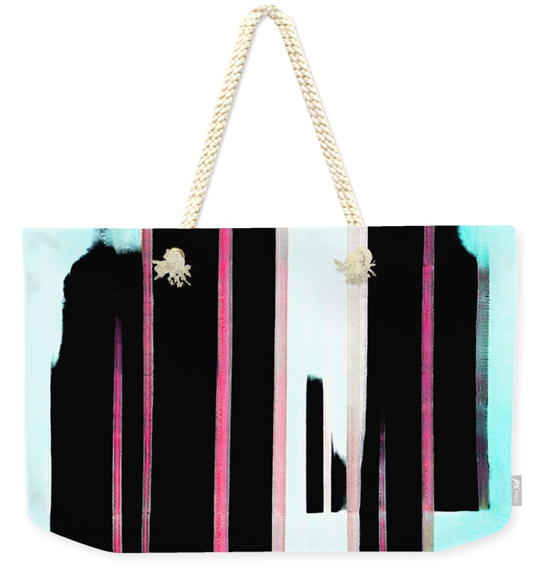 Night and Dad Abstract - Weekender Tote Bag