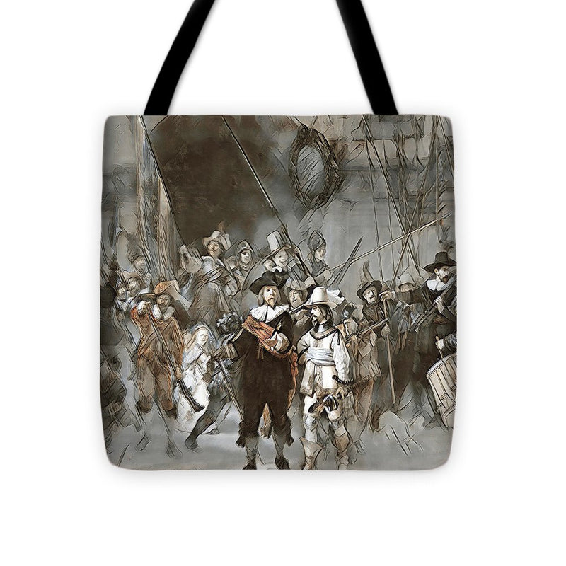 Night Watch Updated - Tote Bag