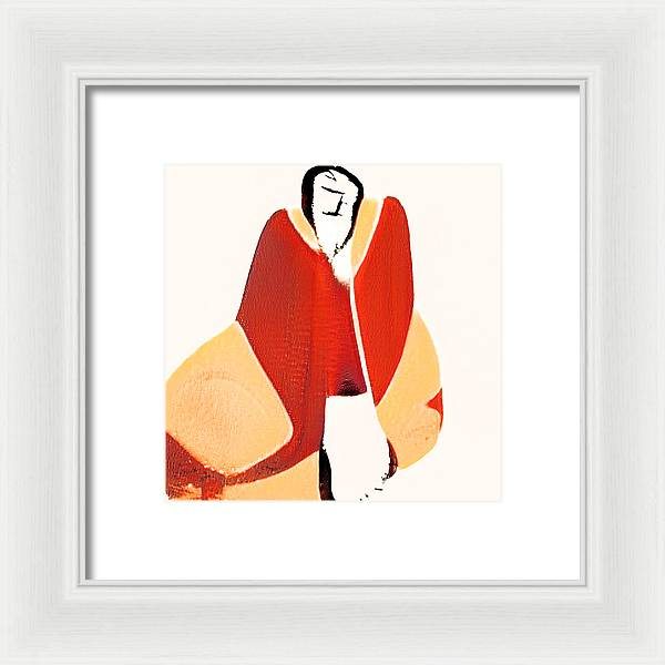 Nothing to Do Abstract - Framed Print