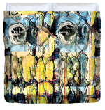 On Vacation Abstract - Duvet Cover
