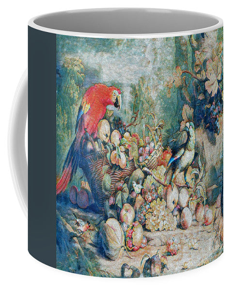 Parrots and Fruit Updated - Mug