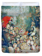 Parrots and Fruit Updated - Duvet Cover