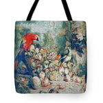 Parrots and Fruit Updated - Tote Bag