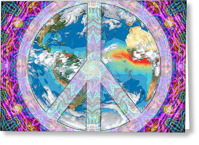 Peace on Earth - Greeting Card