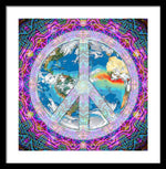 Peace on Earth - Framed Print