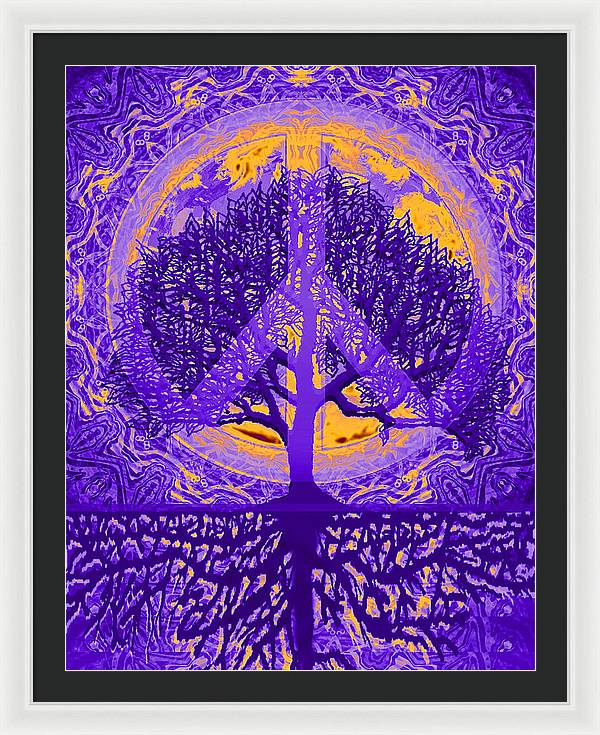 Peace Within - Framed Print