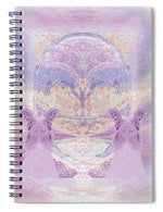 Pink Angels - Spiral Notebook