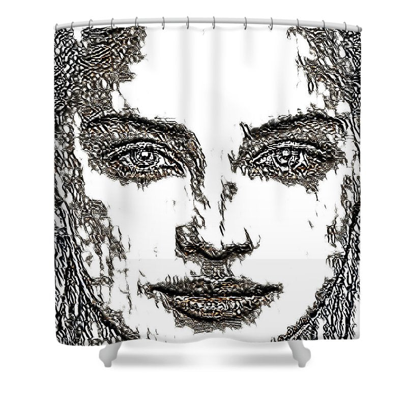 Portrait 23 - Shower Curtain