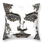 Portrait 23 - Throw Pillow