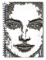Portrait 23 - Spiral Notebook